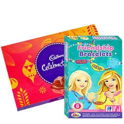 Pretty Barbie Bracelet with Cadbury Celebration