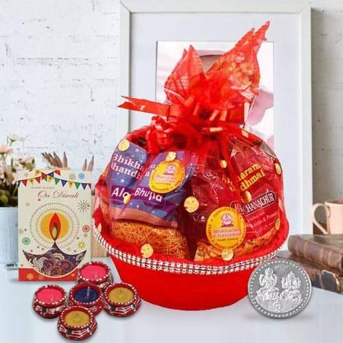 Diwali Delight Basket of Goodies