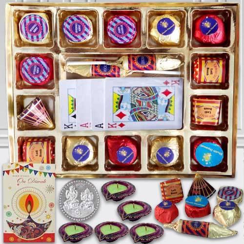 Diwali Hamper for Chocolates n Playing Cards
