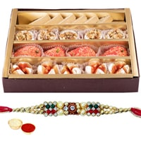 Irresistible Fondness of Tempted Sweets and Rakhi