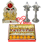 Fabulous Puja Hamper with Sweets for Auspicious Occasion