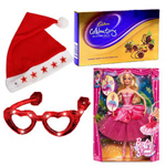 Provocative Presentation of Christmas Gift Items