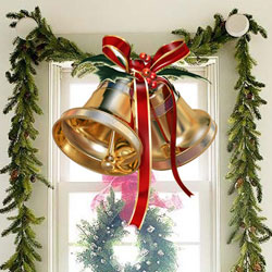 Ornamental Christmas Bells