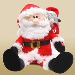 Love-Some Santa Clause Soft Toy