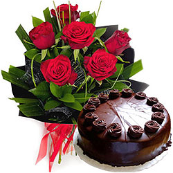 Impressive The Warmth of Gratitude Floral N Cake Collection