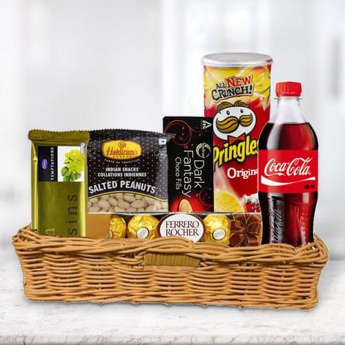 Basket of Delightful Gourmets