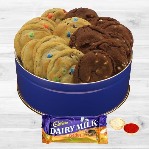 Gift of Dairy Milk Crackle N Cookies