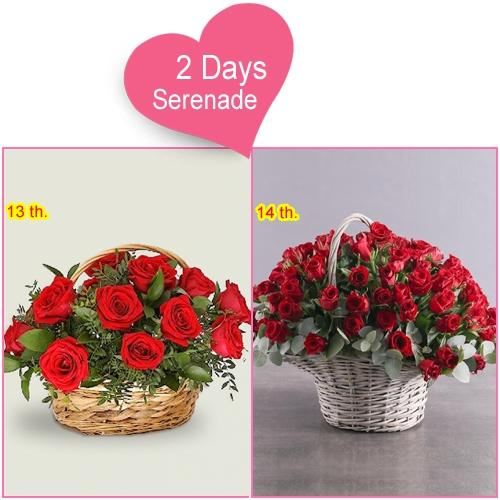 Send 2 Day Serenade Gift for your Love