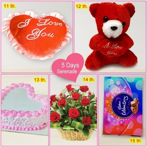 Book Online 5 Day Serenade Gift