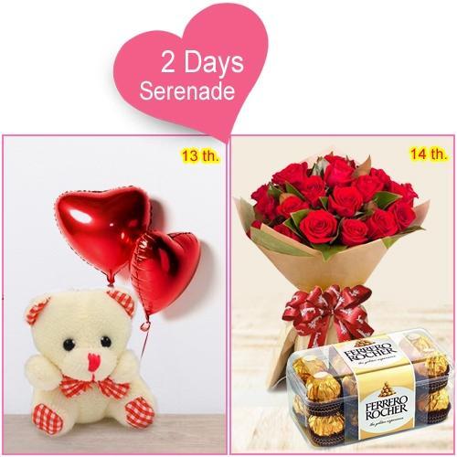 Order Serernade Combo Gifts for Miss Valentine
