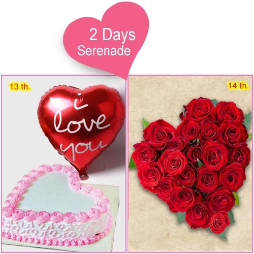 Amazing 2-Day Serenade Combo for Her