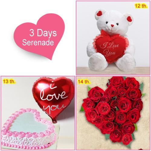 Deliver 3 Day Serenade Gifts Online