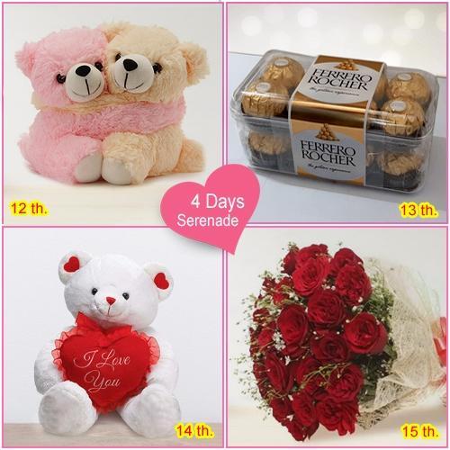 Send Online 4-Day Serenade Gifts