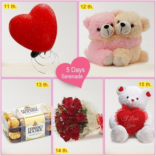 Send 5 Day Serenade Gifts Online