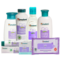 Elegant Combination of Baby Care Gift Items