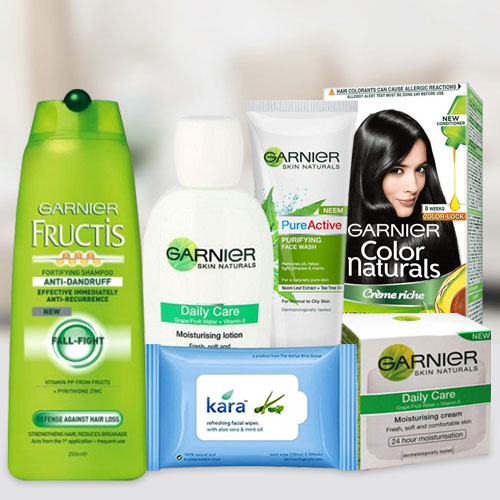 Magical Garnier Total Care Cosmetic Gift Hamper for Women