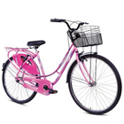 Gaudy BSA Ladybird Splash Bicycle