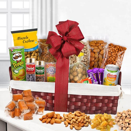 Tongue�s Excite Dry Fruits Basket