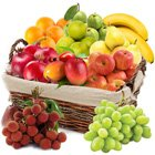 Appetizing Fresh Fruits Gift Basket
