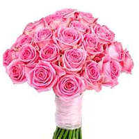 Divine 30 Bright Pink Roses Explosion