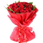 Dazzling Fondest Affections Dutch Roses Premium Bouquet