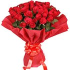 Beautiful Medley of Fresh Fragrance Dutch Roses