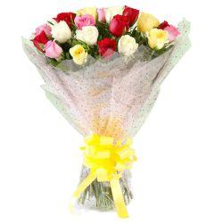 Enchanted Fall Fantasy Bunch of Mixed Roses