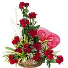 Stylish Compilation of 36 Dutch Red Roses