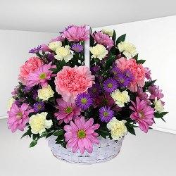 Breathtaking Mixed Floral Basket<br>