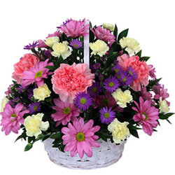Breathtaking Mixed Floral Basket<br>