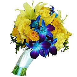 Jocund Bouquet of Lucent Flowers