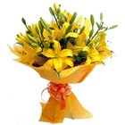 Hearty Bouquet of Priceless Lilies