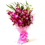 Bouquet of Fresh Bloom Orchids