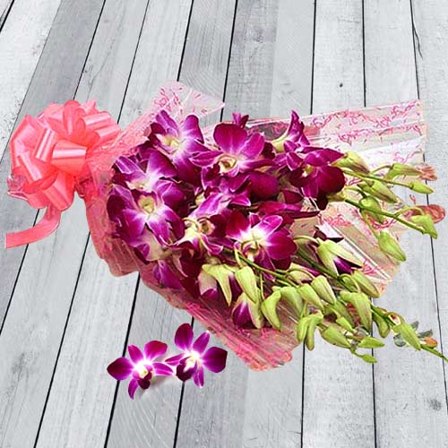 Attractive Orchids hand Bunch