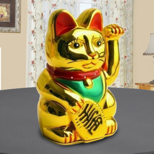 Maneki Neko Lucky Cat Chinese Feng Shui