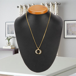 Devoted-to-Passion Stone-Beaded Pendant with Chain