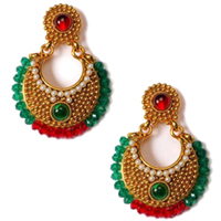 Fashionable Marriage Special Earring Set