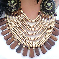 Glamorous Gift of Multi Line Necklace for Ladies