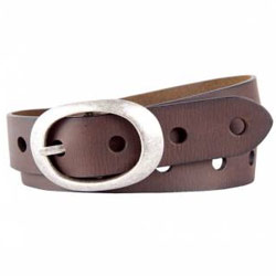 Designer Ladies Special Leather Belt in Brown from Titan Fastrack