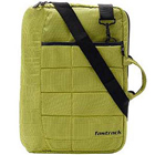 Eye-Catching Messenger Bag from Fastrack in Green Polyester