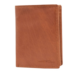 Stunning Urban Forest Leather Wallet for Men in Brown Colour