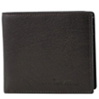 Exquisite Black Urban Forest Leather Wallet for Men