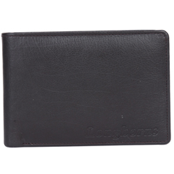 Exquisite Longhorn Gents Wallet in Black