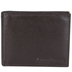 Fashionable Brown Coloured Gents Leather Wallet from Longhorn