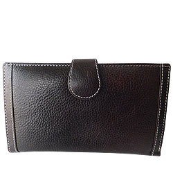 Rich Born�s Turgid Passport Leather Wallet
