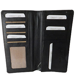 Rich Born�s Ecstatic Gents Leather Coat Wallet