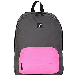 Lovely Black and Pink Coloured Backpack from Fastrack