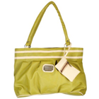 Resplendent Ladies Handbag in Green from Murcia
