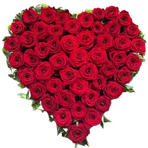 <u><font color=#008000> MidNight Delivery : </FONT></u>:Red Heart Shaped Arrangements