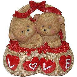 Huggable Teddy Couple